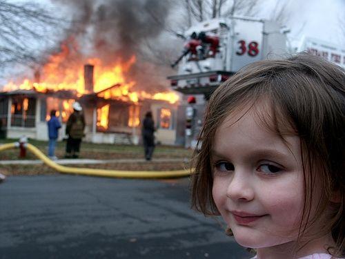 <h2>Disaster Girl</h2>