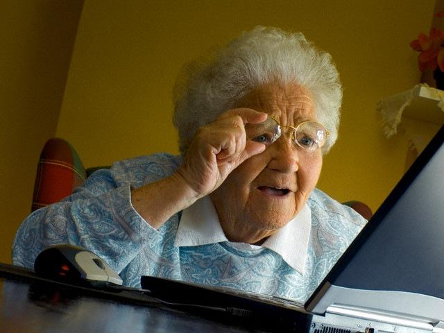 <h2>Grandma Finds The Internet</h2>
