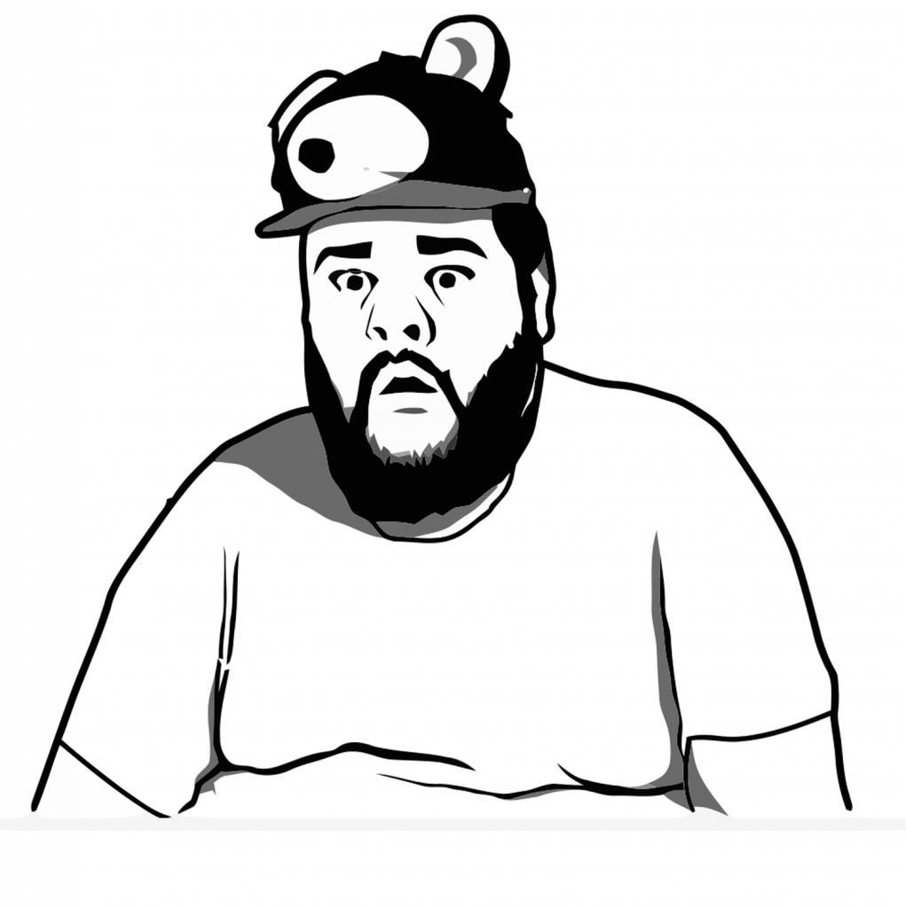 <h2>Sad Bear Guy</h2>